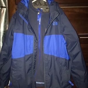 The north face coat/ jacket